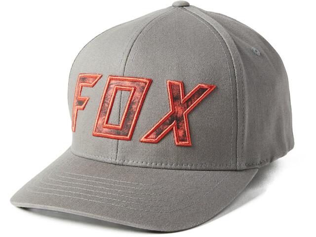 Fox Down N Dirty Flexfit Hat Men pewter